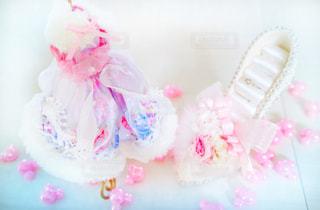 ピンクの花のグループの写真・画像素材[871401]