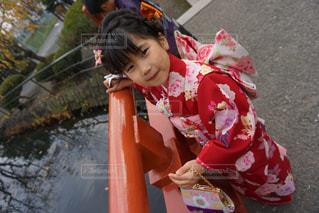 それの後ろに乗って若い子の写真・画像素材[850815]