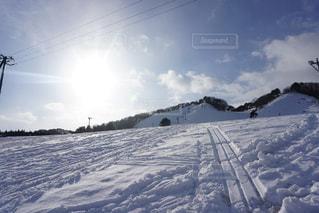 雪,白,スキー場