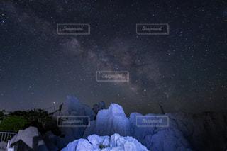 天の川の写真・画像素材[1286651]
