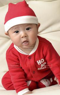子供,クリスマス,サンタクロース,衣装,コスプレ,男の子