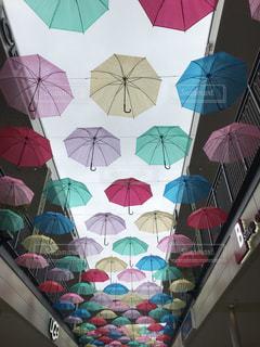 雨,傘,カラフル,オシャレ,三重県,カラー,ジャズドリーム長島