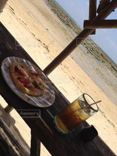 カフェ,海,ランチ,沖縄,浜辺,ティー,浜辺の茶屋,ピザ
