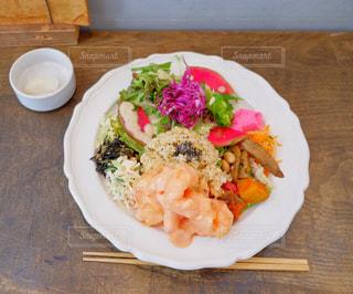 玄米おばんざいプレート(エビマヨ)の写真・画像素材[749619]