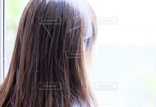 冬のいい髪おでかけの写真・画像素材[1599792]