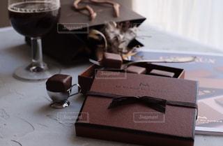ラ・メゾン・デュ・ショコラのチョコレート(アタンション)です。の写真・画像素材[1741772]