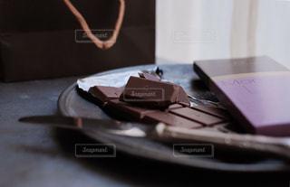 ラ・メゾン・デュ・ショコラのチョコレート(タブレット)です。の写真・画像素材[1741844]