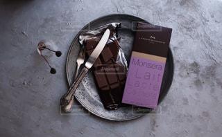 ラ・メゾン・デュ・ショコラのチョコレート(タブレット)です。の写真・画像素材[1741910]