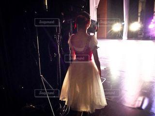 女性,後ろ姿,女の子,バレエ,人物,衣装,舞台,出番