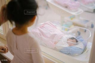 新生児 病院の写真・画像素材[3353862]