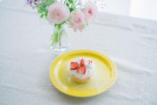 いちごのケーキの写真・画像素材[4362929]