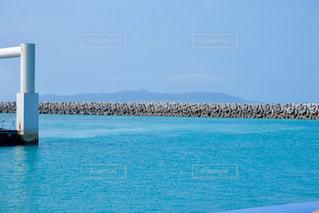 海,晴天,沖縄,コバルトブルー