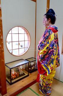 女性,沖縄,伝統衣装