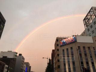 虹の街の写真・画像素材[847409]