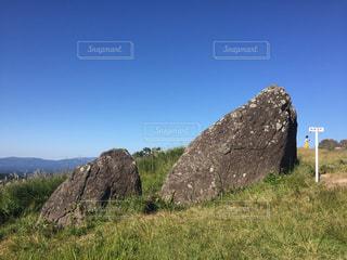 ススキ,岩,熊本,パワースポット,くまもと,押戸石,南小国