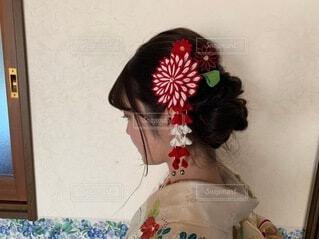 人,髪飾り,イベント,和服,お祝い,晴れ着,ヘアアレンジ,成人式,和装,行事,成人の日,成人式ヘアスタイル