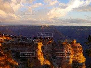 自然,風景,空,朝日,アメリカ,旅行,日の出,グランドキャニオン,初日の出,コロラド