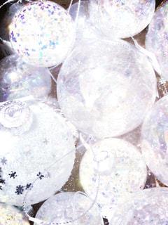 ホワイトクリスマス飾り - No.909143