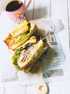 人気サンドイッチの写真・画像素材[1271008]