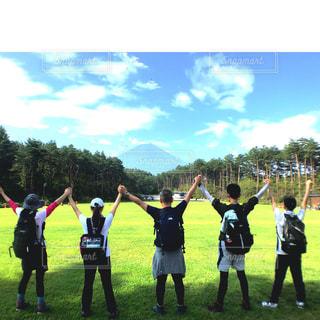 富士登山へ挑戦(*^▽^*)の写真・画像素材[1404706]