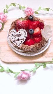 バレンタインケーキの写真・画像素材[1786977]