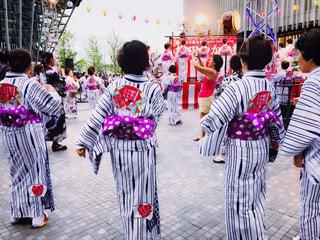 盆踊り大会の写真・画像素材[2392754]