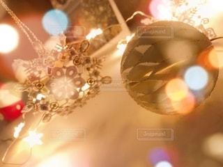 クリスマスの輝きの写真・画像素材[2782024]