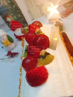 クリスマスケーキの写真・画像素材[2822389]