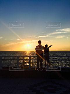 自然,海,空,ピース,息子,父