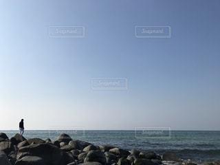 地平線、何を想うか。の写真・画像素材[730343]