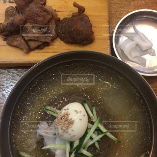 韓国,江南,ユッサム冷麺