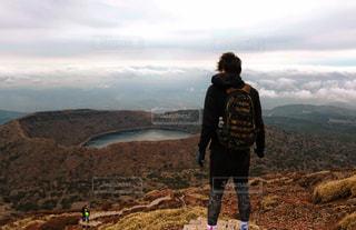 韓国岳にて。の写真・画像素材[770466]