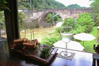テーブル ワインのグラス - No.776222