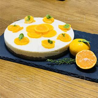 ケーキ,フルーツ,チーズ,みかん