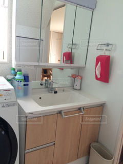 スッキリ‼︎洗面台☆の写真・画像素材[763544]