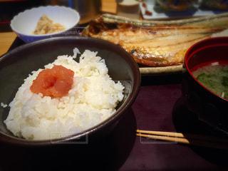 ランチ,味噌汁,ご飯,和食,日本食,定食,たらこ,白米,博多もつ鍋やまや