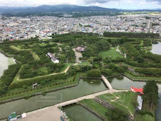 函館五稜郭の写真・画像素材[883899]
