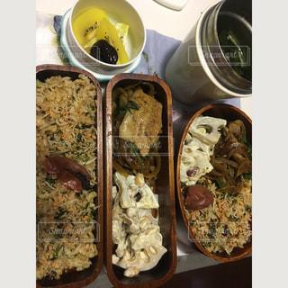 料理の種類でいっぱいのボックスの写真・画像素材[771967]