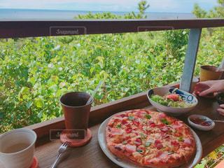 沖縄,タコライス,海の見えるテラス,カフェ土花土花,土花土花ピザ