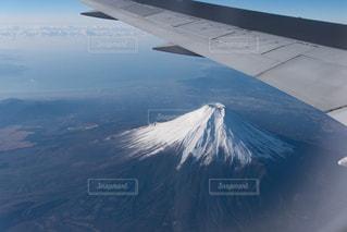 上空より富士。の写真・画像素材[1095003]