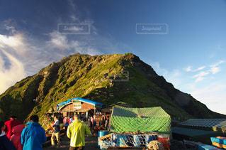 日本で二番目の山、北岳。の写真・画像素材[1411897]