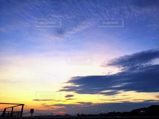 夕暮れの空の写真・画像素材[971787]