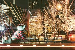 冬,屋外,アート,樹木,イルミネーション,ライトアップ,クリスマス,写真,並木道,梅田,大阪駅,クリスマスツリー,グランフロント,景観,ショッピングモール,アンバサダー,グランフロント大阪,シャンパンゴールド,グランフロントクリスマス,Grand Wish Christmas 2020,Winter Voyage Tree,「Winter Voyage -世界を繋ぐ希望の旅-」