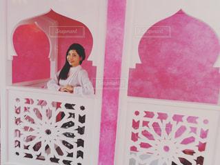 ピンクのカフェの写真・画像素材[865082]