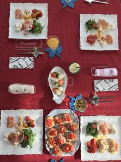 冬,食事,食卓,クリスマス,準備,クリスマスパーティ