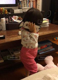 スマホ,電話,姪っ子,1歳5ヶ月