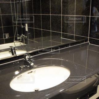 インテリア,鏡,ユニットバス,洗面台,ホテルライク