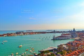 水色のヴェネツィアの写真・画像素材[1314506]