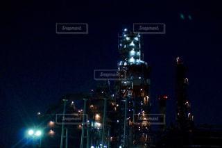 工場夜景クルーズの写真・画像素材[1018273]