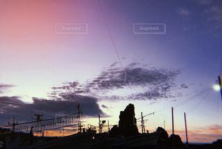 夕暮れの佐渡の写真・画像素材[1407532]